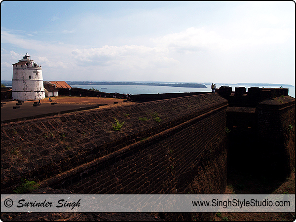 Architecture Photography India Goa Agauda Fort