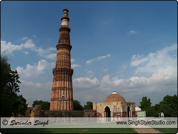 Architecture Photography India Delhi Qutab Minar