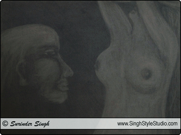 Fine Arts in Delhi, India by Fine Artist Surinder Singh