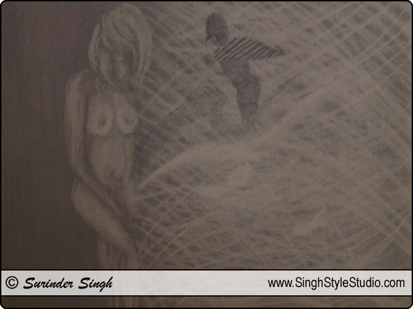 Modern Art by Fine Artist Surinder Singh, Delhi, India