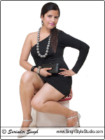 nude portfolio Indian model