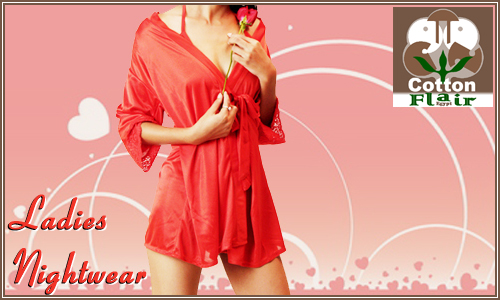 Ladies Night Wears by Cotton Flair : Fashion Products Photographer in Delhi Gurgaon Noida Faridabad India