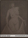Nude Fine Arts in Delhi, India, Fine Artist Surinder Singh