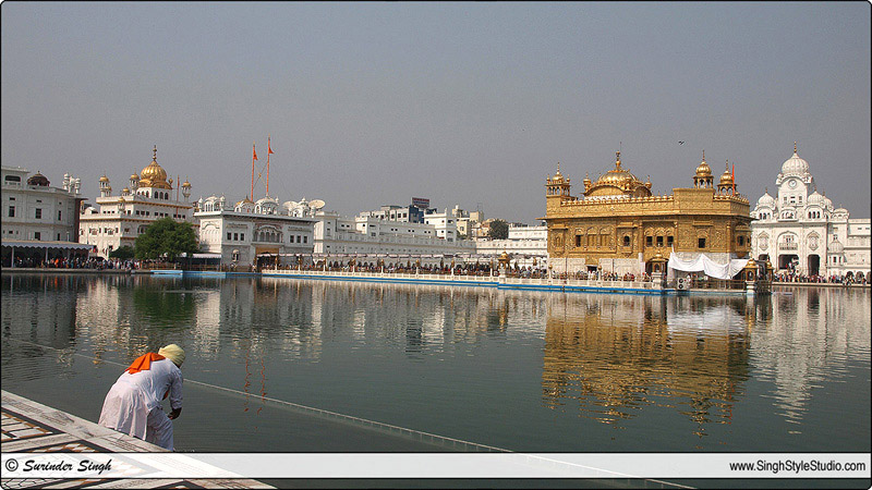 Indian Travel Photography The Golden Temple Amritsar Punjab India Surinder Singh Photography