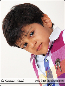 Delhi Kid Model Portfolio of Chaitanya Kadian