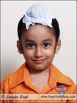 Sikh Kid Child Models Portfolio