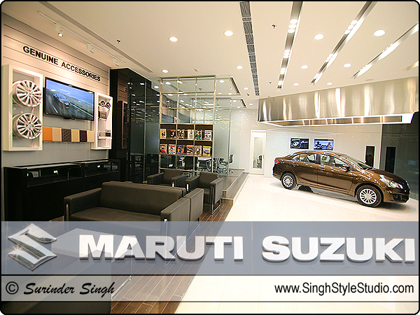Location Photography Maruti Suzuki Showroom, Dwarka, Delhi India