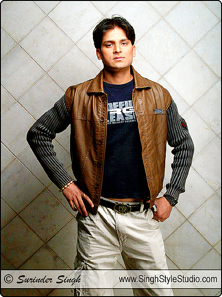 Male Model Portfolio Photographer in Delhi India