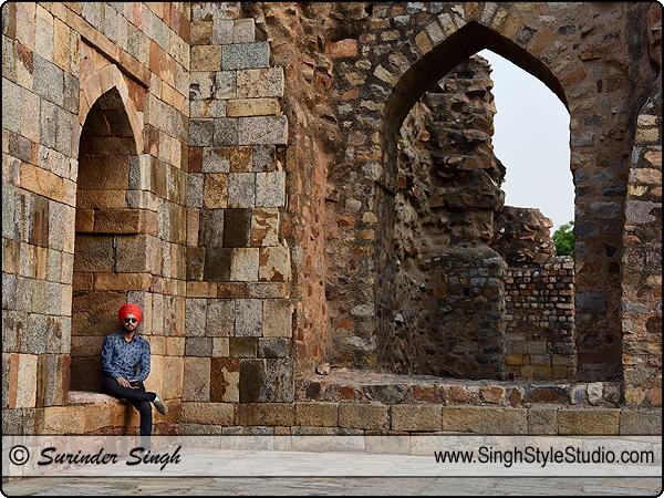 Sikh Male Model Portfolio Shoot in Delhi India