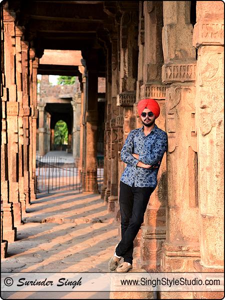 Sikh Male Modeling Portfolio in Delhi India