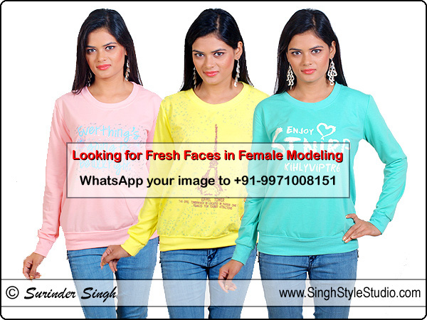 Looking for Fresh Faces in Female Modeling in Rohini New Delhi India