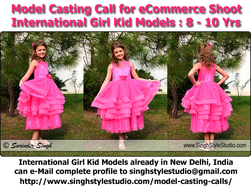 International Girl Kid Modeling in Delhi India