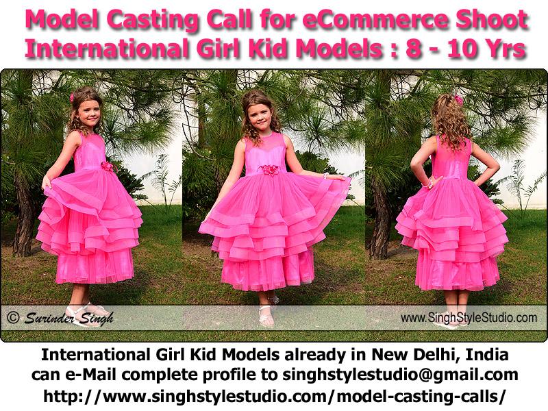 International Girl Kid Modeling in Delhi India