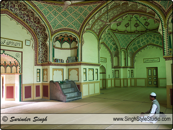 Islam Religious Photography, Tile Wali Masjid, Lucknow, Uttar Pradesh, India.