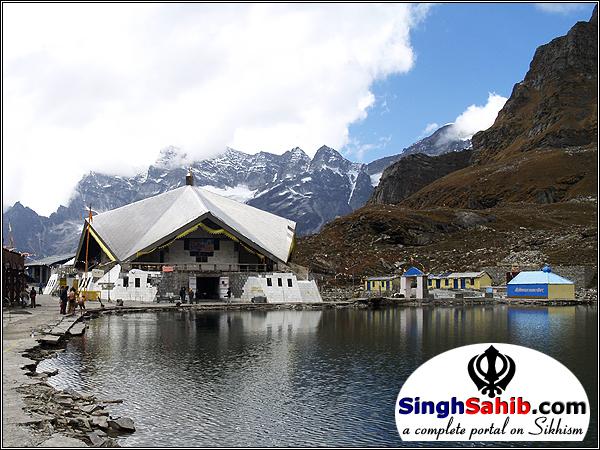 Sikhism Religious Photography, Hemkund Sahib, Chamoli, Uttarakhand, India.