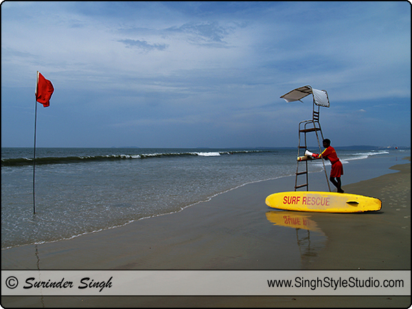 Seascape Photography Goa India
