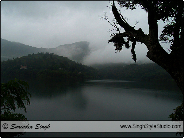 Silhouette Landscape Photography Nainital Uttrakhand India